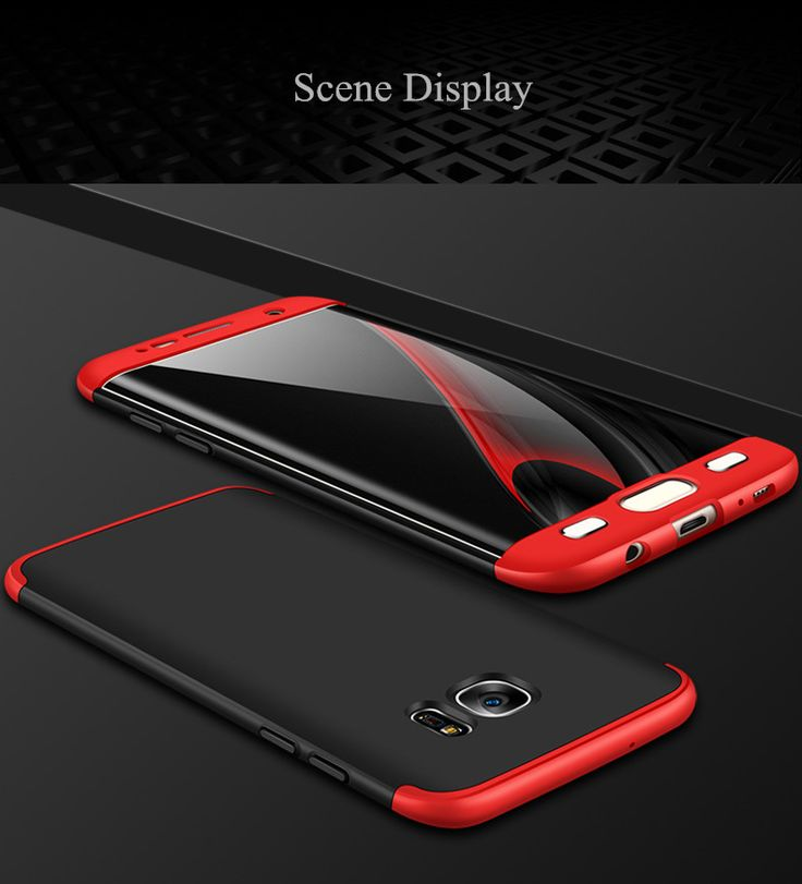 Bakeey™ 3 in 1 Double Dip 360° Full Protection Hard PC Cover Case for Samsung Galaxy S7 Edge