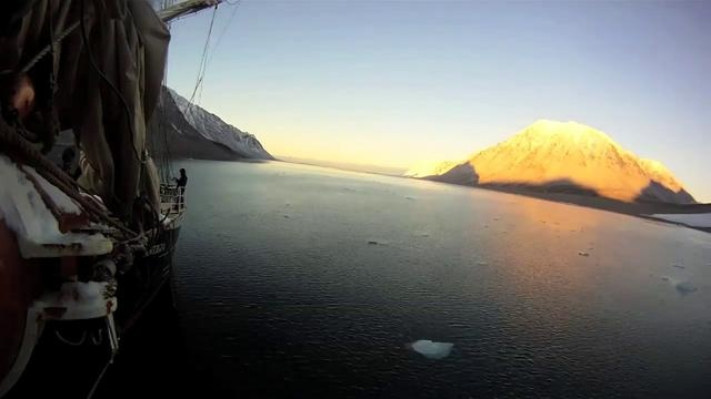 """arctic time-lapse by david bowen. Recorded October 2011 aboard the """"tall ship"""" Antigua off the arctic islands of Svalbard 9 degrees from the North Pole."""