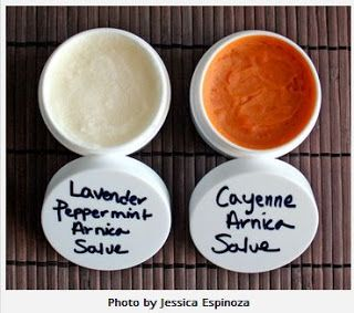 Easy Homesteading: Pain Relieving Coconut Oil Arnica Salve Recipe