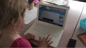 Sharing learning using the class blog and e-portfolios. Russell Street School