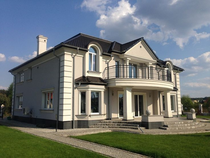Realizacja projekt Ambasador 2 #dom #ogród #projekt