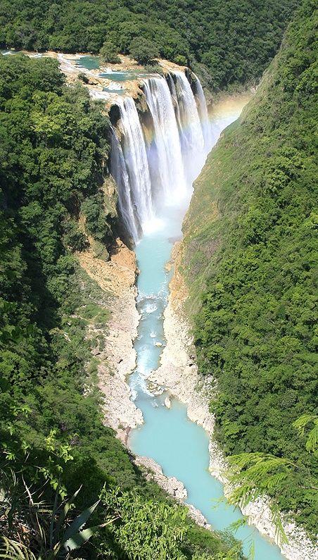Potosina.. Tamul Waterfall, La Huasteca - San Luis Potosi, MEXICO.