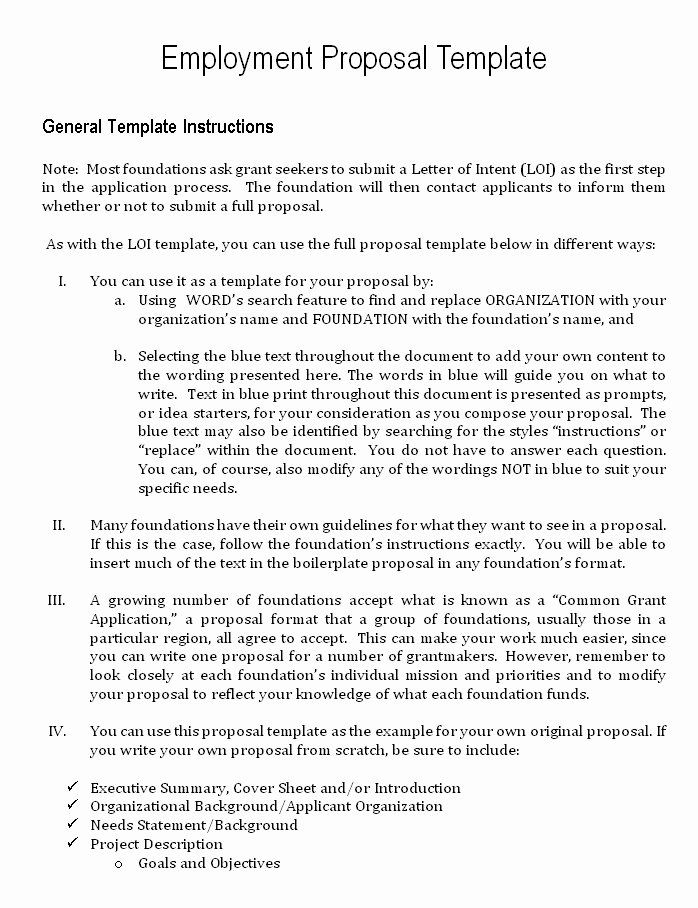 Job Proposal Template Pdf Beautiful Job Proposal Template Proposal Templates Proposal Letter Business Proposal Template
