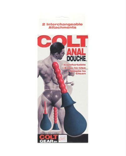 California Exotics / Swedish Erotica Colt Anal Douche by California Exotic Novelties. $13.93. Easy-to-use cleaning system designed for comfort and simplicity.