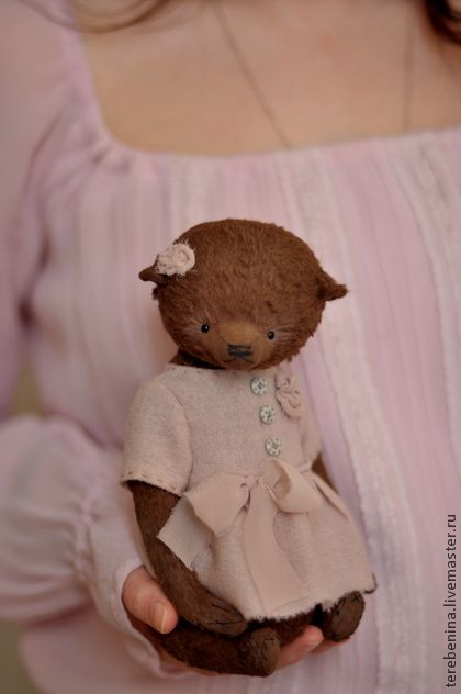 Teddy bear handmade.  Fair Masters - handmade teddy bear Polly ..... Handmade.
