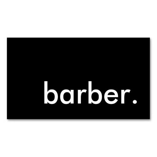 Best Barber Business Cards Images On Pinterest Barber - Barber business card template