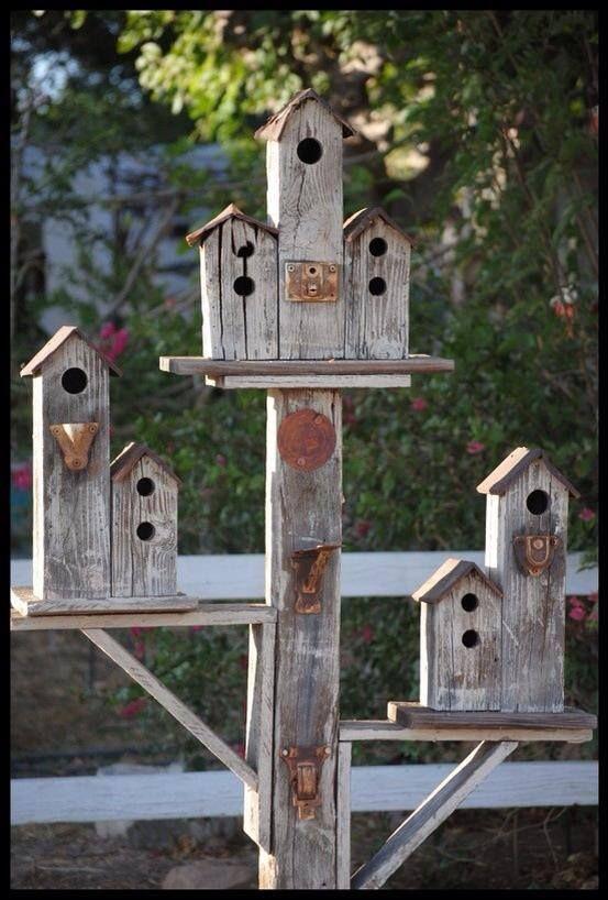 bird condo .Hammack's wood-n-cloth crafts