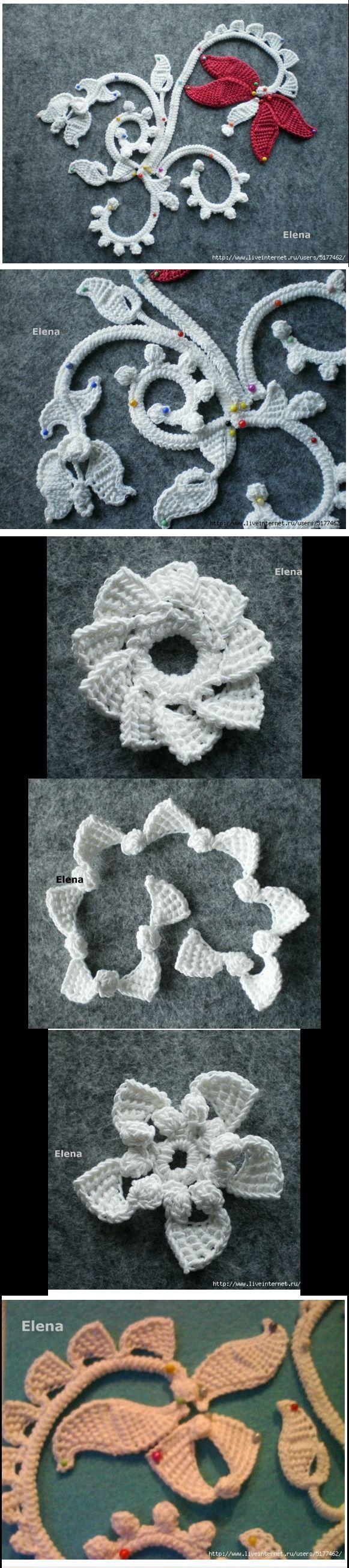 Irish crochet....<3 Deniz <3