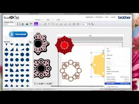 In this video I show how i used circle shapes to weld together to create doily effect designs using ScanNCut Canvas. I gave away the free cutting file some w...