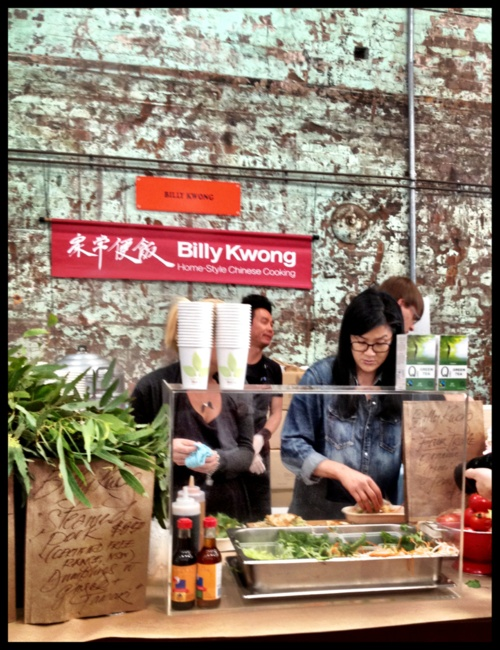 kylie kwong cooking up a storm last saturday @ eveleigh markets