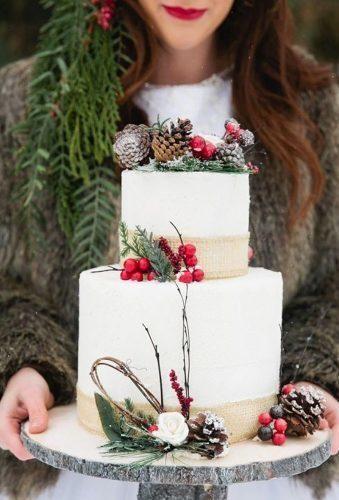 Fabulous Winter Hochzeitstorten Wir lieben ★ Winter Hochzeitstorten Kuchen mit Beeren …   – wed deco