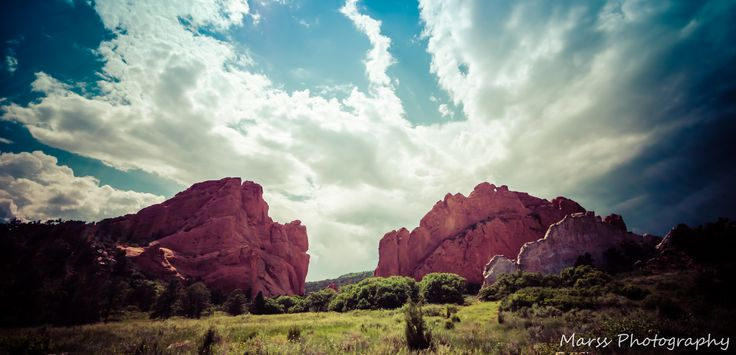 The Garden of the Gods in Colorado Springs, Colorado - By Marss Photography