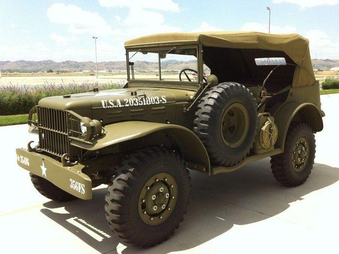 1942 Dodge Wc56 Military Command Car Military Vehicles Dodge Trucks Old Trucks