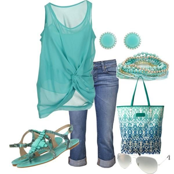 LOLO Moda: Fashionable colorful women outfits - summer spring 2013. ... Love the shirt, bracelet and shoes