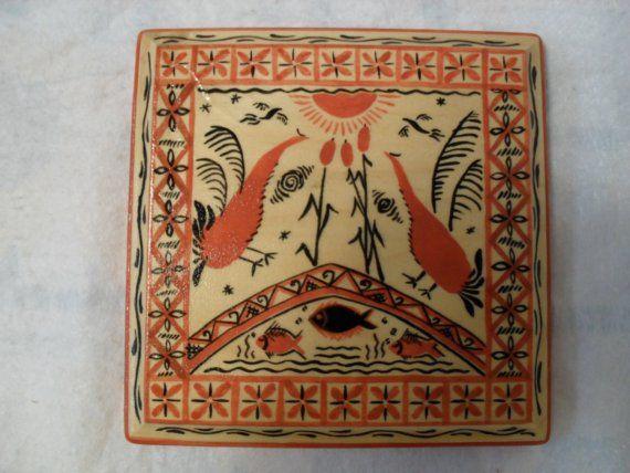 Mezen traditional folk art Board