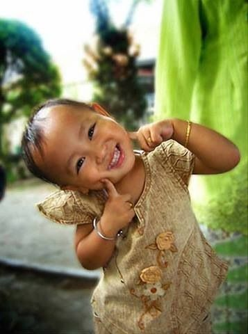 A smile is a curve that sets things straight.