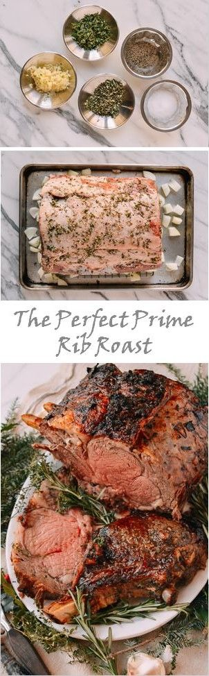 The Perfect Prime Rib Roast #perfect #primerib #roast #holidaydinner