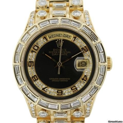Rolex 18048 Super President 15ct Diamond Gents Watch