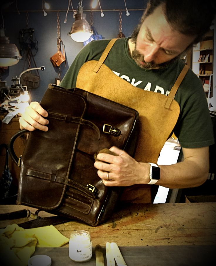 The Art of Leather Care