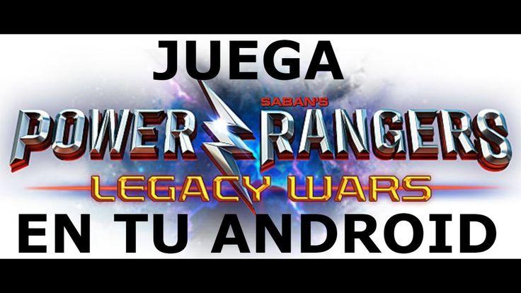 JUEGA EL MEJOR JUEGO DE POWER RANGERS EN TU ANDROID 2017!!