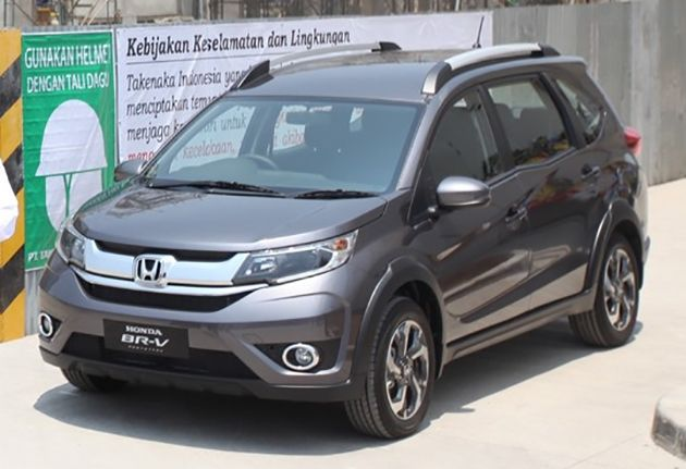 India bound Honda BRV spotted on road for the first time
