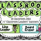 This Classroom Leaders Pack is exactly what you need to get your students excited about taking on leadership roles in the classroom.   This set inc...