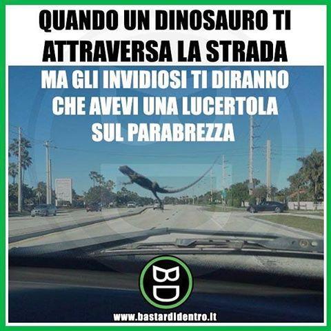 Alle 15 la nuova puntata del nostro nuovo programma su #YouTube! Non perderla! #bastardidentro #dinosauro #lucertola www.bastardidentro.it