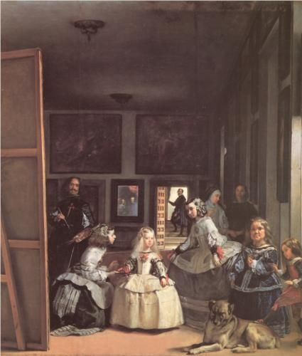 Las Meninas - Diego Velazquez  This was a favorite from art history class in college.