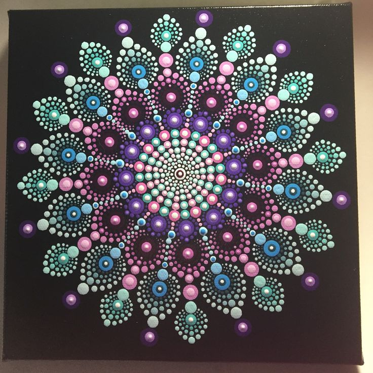633 best dot painting images on pinterest dot painting pointillism and mandala art. Black Bedroom Furniture Sets. Home Design Ideas