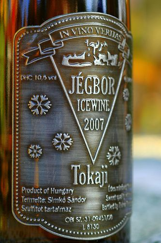 Ice wine from Sárospatak - Product of a winemaker from Sárospatak. (Hungary/Europe)