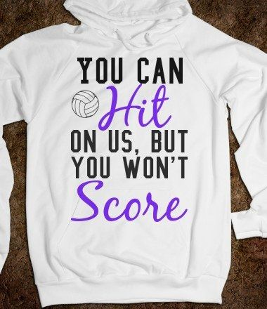 I think we need these for our volleyball team! :)