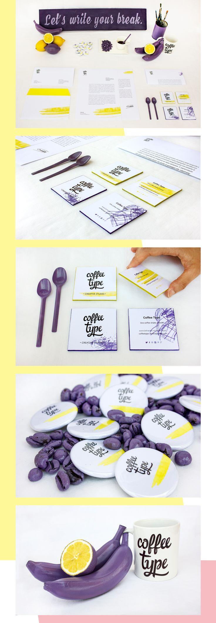 Coffee Type - Creative Studio | Identity on Behance