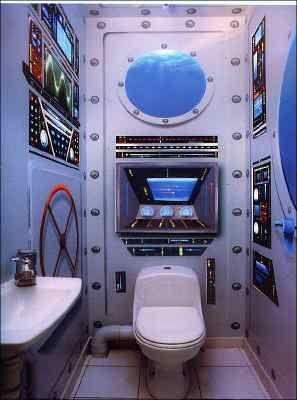 Les 25 meilleures id es concernant trompe l oeil mural sur pinterest trompe - Idee toilette originale ...