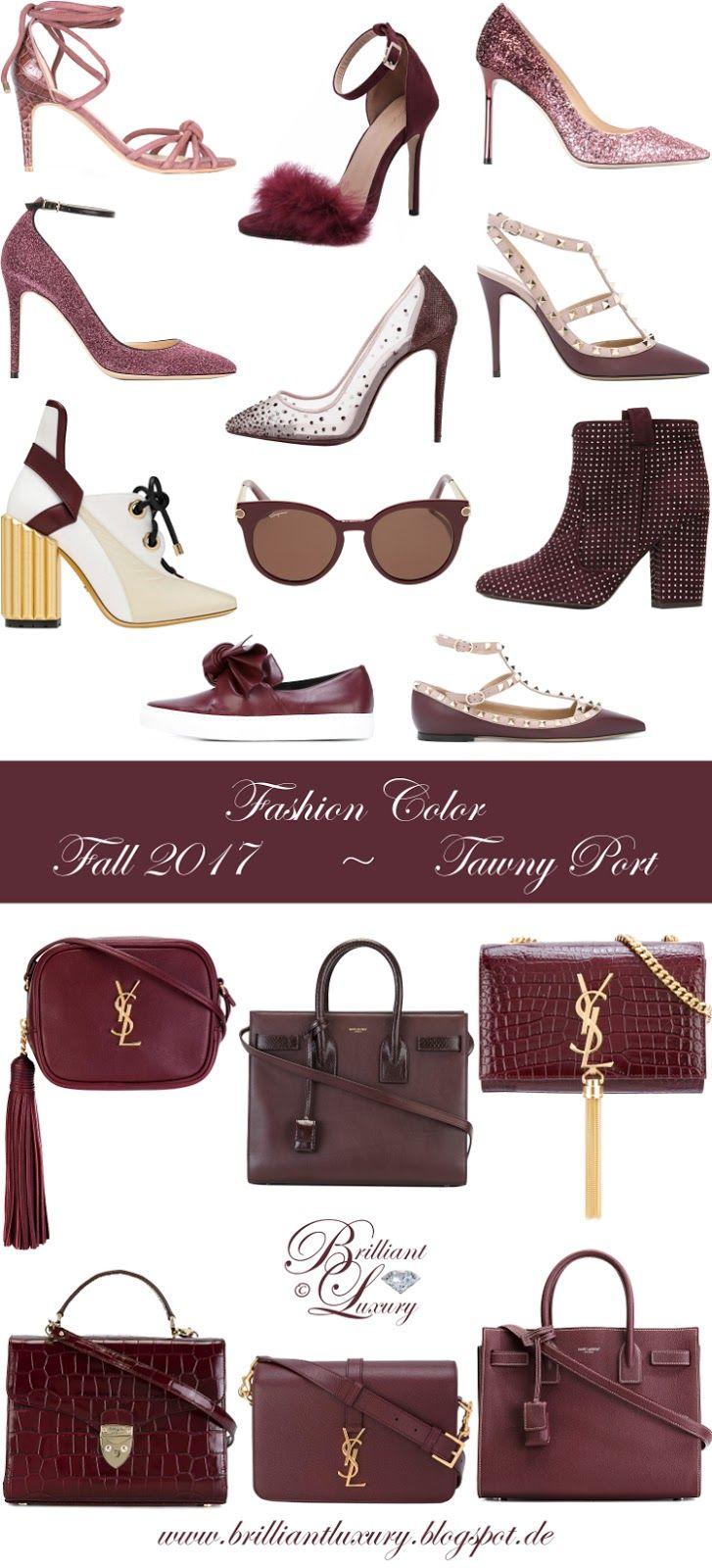 Brilliant Luxury by Emmy DE ♦ Fashion Color Fall 2017 ~ Tawny Port