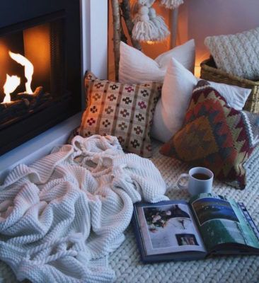The buzzy home trend that's about to make your winter way cozier