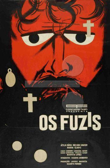 """{""""os fuzis"""" por ruy guerra: #cartaz de ziraldo} #mywall"""