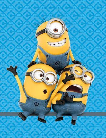 Despicable Me Minions Pyramid Throw