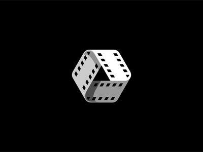 Dribbble Film By George Bokhua Logo Design Creative Graphic Design Logo Logo Design Inspiration