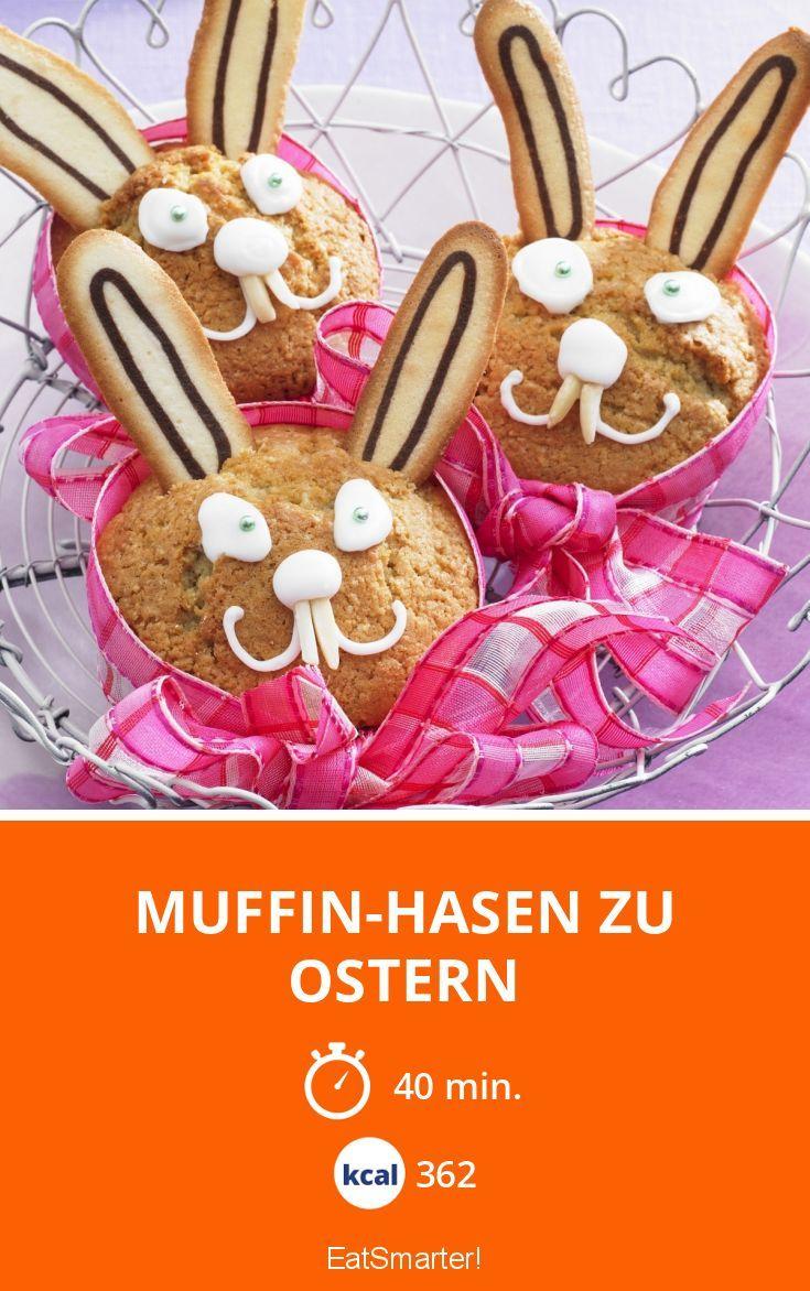 Muffin-Hasen zu Ostern | Kalorien: 362 Kcal - Zeit: 40 Min. | eatsmarter.de