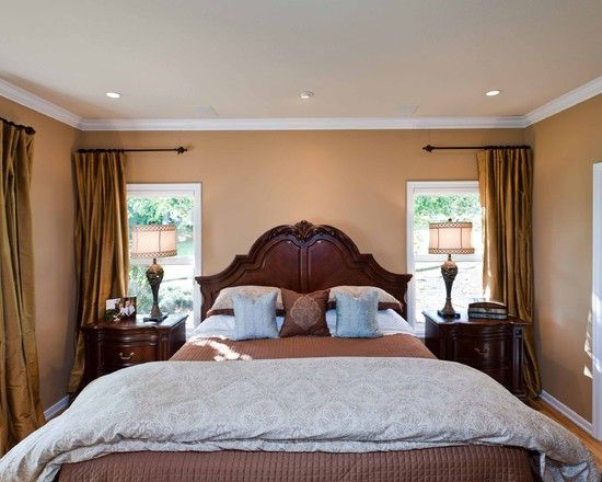 Spaces Curtains On Corner Windows Design Pictures Remodel Decor And Ideas