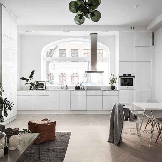 One From This Week S Homes To Inspire Blog Post I Love Light Filled Kitchen See The Full Tour On Styling By Scandinavianhomes Kronfoto For