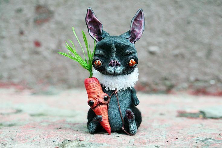 летучей мыши-кролик и морковка по да-бу-ди-бу-да