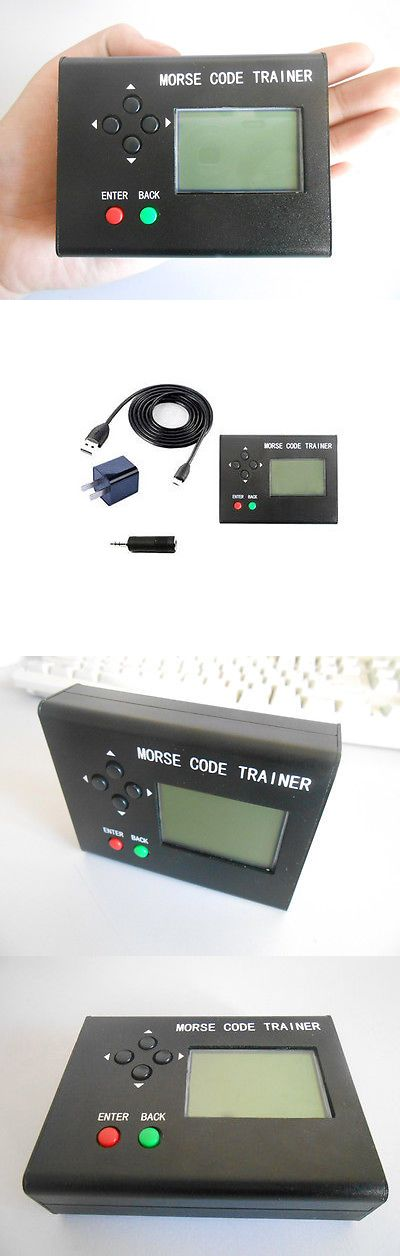 Code Keyers and Keys: Morse Code Trainer Lcd Telegraph Short Wave Radio Station Transmitter Cw Auto -> BUY IT NOW ONLY: $82.59 on eBay!