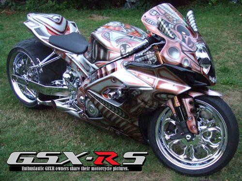 2006 GSXR 1000   Custom