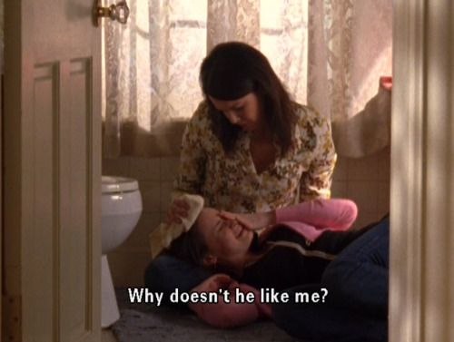 Gilmore girls - reflecting real life (at least for people who live in my version of reality) one episode at a time.