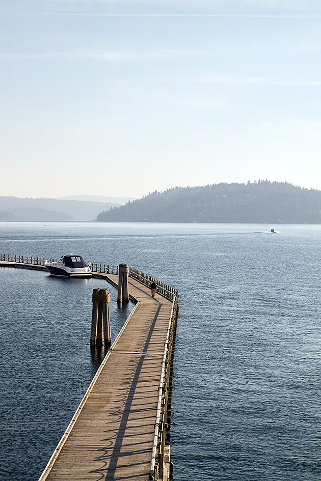 Lake Coeur d'Alene - Idaho. Kristyn, you said kayaking, and now I'm interested! haha