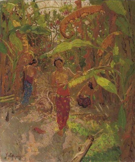 Adrien-Jean Le Mayeur de Merfres - Wanita di Hutan