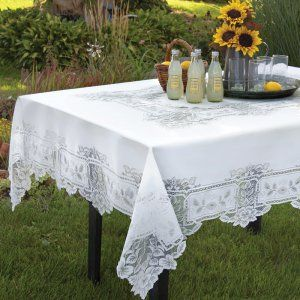Square Tablecloths on Hayneedle - Square Tablecloths For Sale
