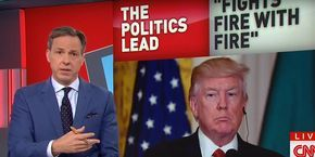 Jake Tapper's Response to Trump's 'Face-Lift' Tweet Was Absolutely Perfect (Video)