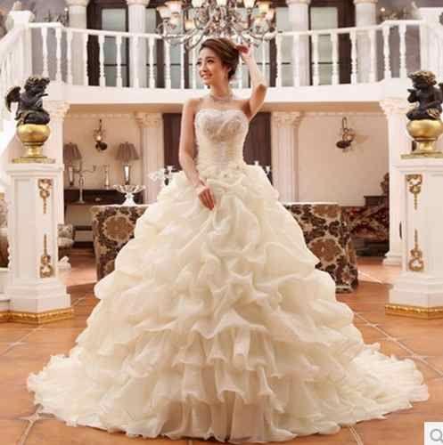 vestidos de novia chinos lindo